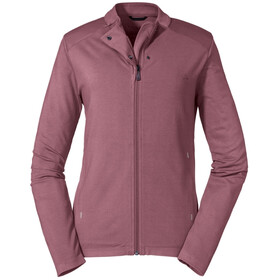 Schöffel Parnell Fleece Jacket Women red moscato